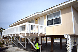 Researchers look to see how elevated housing in Florida