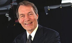 Journalist Charlie Rose to receive William Allen White award