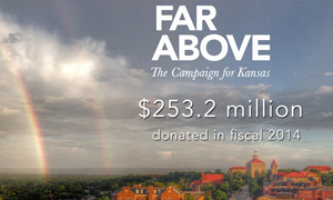 Private giving for KU reaches $253.2 million