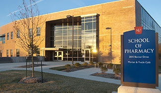 The School of Pharmacy Building on KU's Lawrence Campus