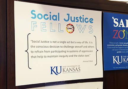 Social Justice Fellows Certificate of Completion