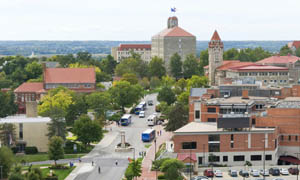 Jayhawk Boulevard will be part of the area designated a new site in the Register of Historic Kansas Places.