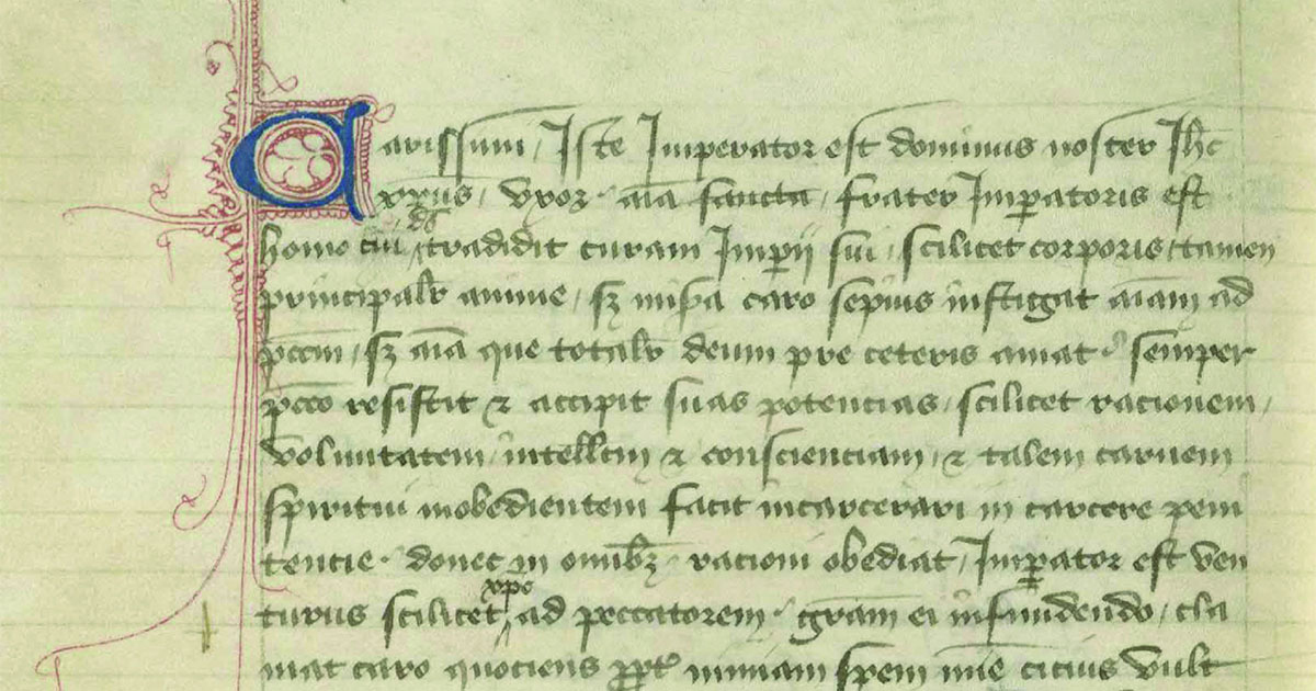 Major medieval poet pegged as book's scribe, shaking up