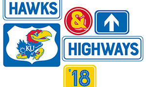 'Hawks & Highways' events to bring KU to communities statewide