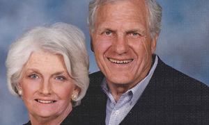 Couple's estate gift gives $3.5 million to athletics, law