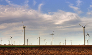 As wind-turbine farms expand, research shows they could offer diminishing returns