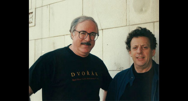 TIBBETTS WITH PHILIP GLASS