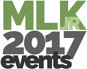 Martin Luther King Jr. Day 2017 events logo